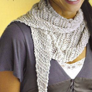 Berroco Linen Jeans Linen Summer Wrap Kit - Scarf and Shawls