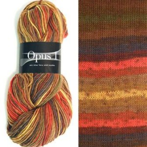 Zitron Opus 1 Yarn - 100 Rusts/Browns
