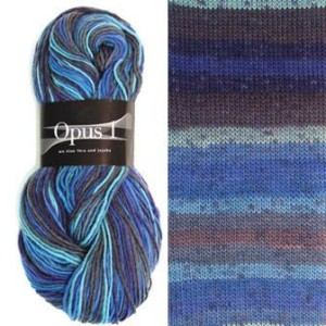 Zitron Opus 1 Yarn - 500 Blues