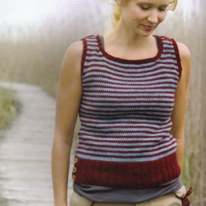 Cascade 220 Lewiston Striped Vest Kit - Vests