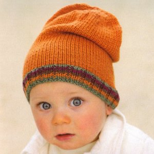 Sublime Baby Cashmere Merino Silk DK Little Ginger Hat Kit - Baby and Kids Accessories