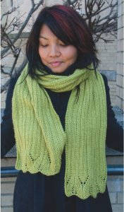 Classic Elite Magnolia Scarf Kit - Scarf and Shawls