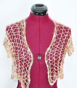 Artyarns Beaded Mohair and Sequins One-Skein Bolero Kit - Women's Sleeveless