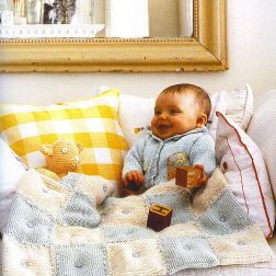 RYC Cashsoft Baby DK Blankie Kit - Baby and Kids Accessories