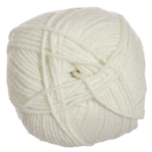 Plymouth Encore Worsted Yarn - 0146 Winter White