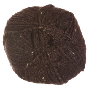 Plymouth Yarn Encore Tweed Yarn - 0599 Dark Brown Discontinued