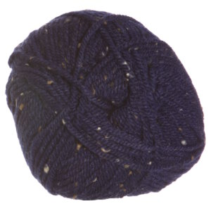 Plymouth Yarn Encore Tweed Yarn - 5854 Navy