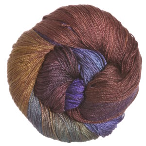 Hand Maiden Sea Silk Yarn - Nightshade