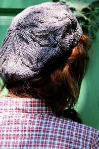Madelinetosh Tosh Patterns - Poet Society Tam Pattern