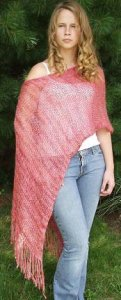 Artyarns Silk Rhapsody Ponshawl Kit - Scarf and Shawls