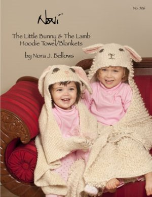 Noni Patterns - The Little Bunny & Lamb Hoodie Towels/Blankets Pattern