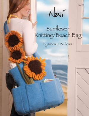 Noni Patterns - Sunflower Knitting/Beach Bag Pattern