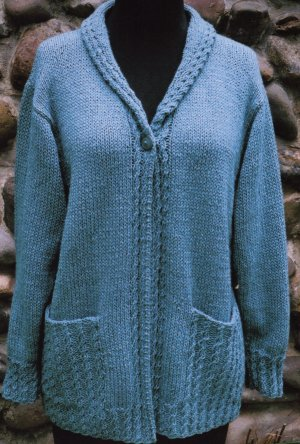 Oat Couture Patterns - Hampden Cardigan Pattern