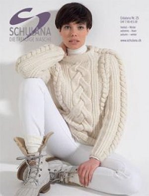 Schulana Pattern Books - Crealana 25 - Fall 2009