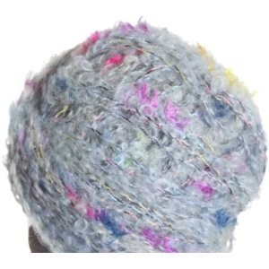 Louisa Harding Liberty Boucle Yarn - 01 Sky/Green/Pink