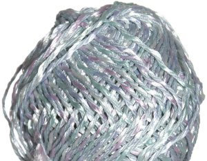 Louisa Harding Mariposa Yarn - 02 White/Light Blue