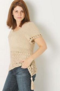 Skacel Collection, Inc. Patterns - Savanna Summer Pullover - #21100202 Pattern