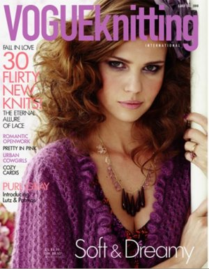 Vogue Knitting International Magazine - '10 Early Fall