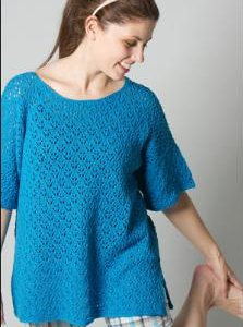 Skacel Collection, Inc. Patterns - Easy Breezy Lace Coverup Pattern