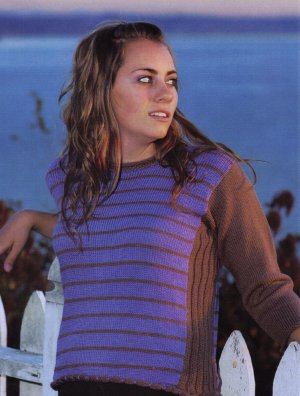Skacel Collection, Inc. Patterns - Striped Pullover Pattern