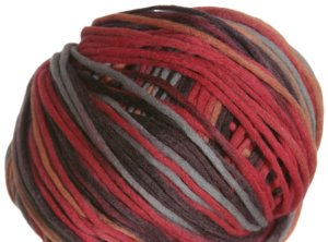 Zitron Loft Color Yarn - 590 Pumpkin, Brown and Red