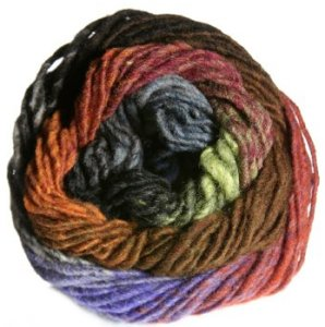Noro Kureyon Yarn - 262 Grey/Black/Brown/Rust (Discontinued)