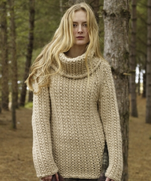 Rowan Big Wool Voyager Pullover Kit - Women's Pullovers