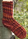 Mountain Colors Patterns - Jonesy's Toe-Up Socks Pattern