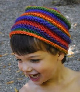 Crystal Palace Children's Dragon Ribs Hat Kit - Hats and Gloves