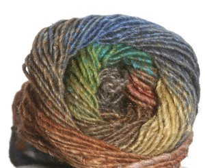 Noro Silk Garden Yarn - 297 Brown, Yellow, Green (Discontinued)