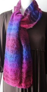 Crystal Palace Mini Mochi Drop Stitch Scarf Kit - Scarf and Shawls