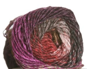 Noro Silk Garden Yarn - 323 Rust, Brown, Pink, Blue (Discontinued)