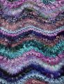 Colinette Absolutely Fabulous Throw Kit - Rhapsody in Blue