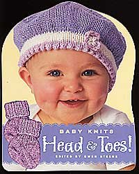 Hat and Socks Books - Knit Baby Head & Toes!
