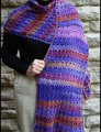 Crystal Palace Mochi Plus Broomstick Lace Stole