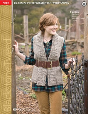 Berroco Pattern Books - 298 - Blackstone Tweed and Blackstone Tweed Chunky