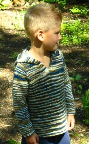 Knitting Pure and Simple Patterns - Baby & Children Patterns - 0232 - Children's Tunic