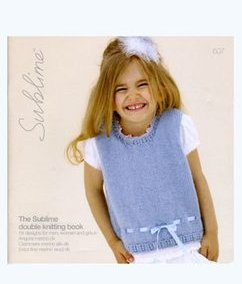 Sublime Books - 607 - The Sublime Double Knitting Book (Discontinued)