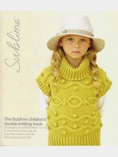 Sublime Books - 613 - Children's Double Knitting Book (Discontinued)