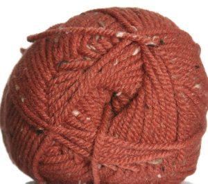 Plymouth Encore Tweed Yarn - 456 Spiced Pumpkin