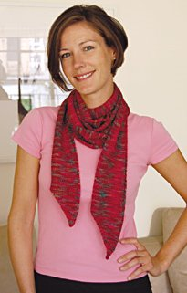 Dovetail Designs Knitting and Crochet Patterns - Skinny Scarf to Knit Pattern