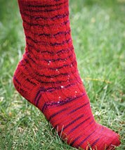 Mountain Colors Patterns - Blue Ridge Socks Pattern