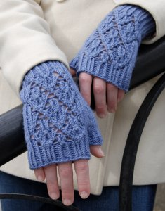 Classic Elite Wool Bam Boo Point Reyes Mitts Kit - Hats and Gloves