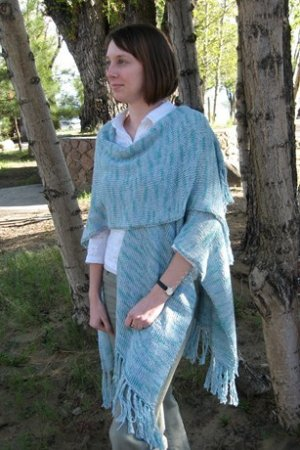 Knitting Pure and Simple Women's Patterns - 1011 - Simple Wrap Pattern