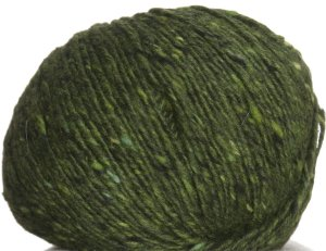 Debbie Bliss Luxury Tweed Aran Yarn - 25 Forest (Discontinued)