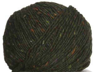 Debbie Bliss Luxury Tweed Aran Yarn - 26 Hunter