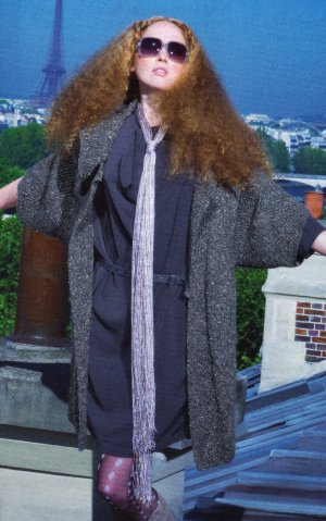 Berroco Blackstone Tweed Pantheon Coat Kit - Women's Cardigans