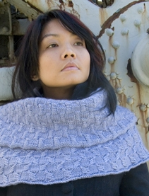Classic Elite Magnolia Sassafras Cowl Kit - Scarf and Shawls