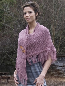 Classic Elite Portland Tweed Sarsparilla Shawl Kit - Scarf and Shawls