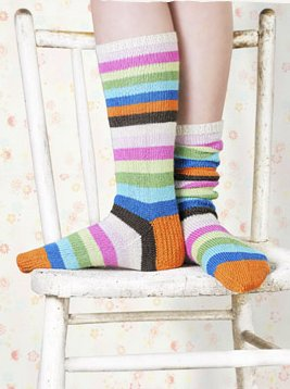 Spud & Chloe Patterns - Popsicle Socks Pattern